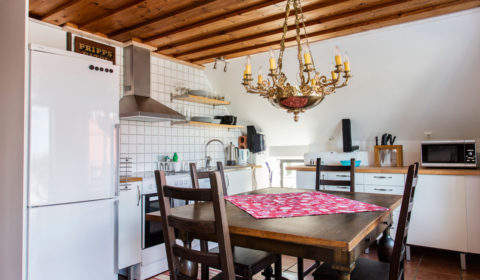 köket i lägenhet Utsikten.