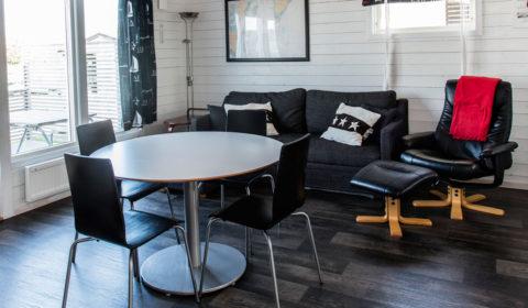 Vardagsrum stuga Måsen - Ålen.